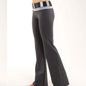 Lululemon | Reversible Groove Pant Grey/Quilted